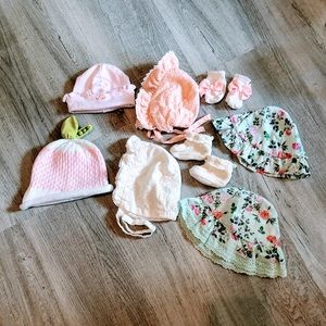 Baby hats bundle